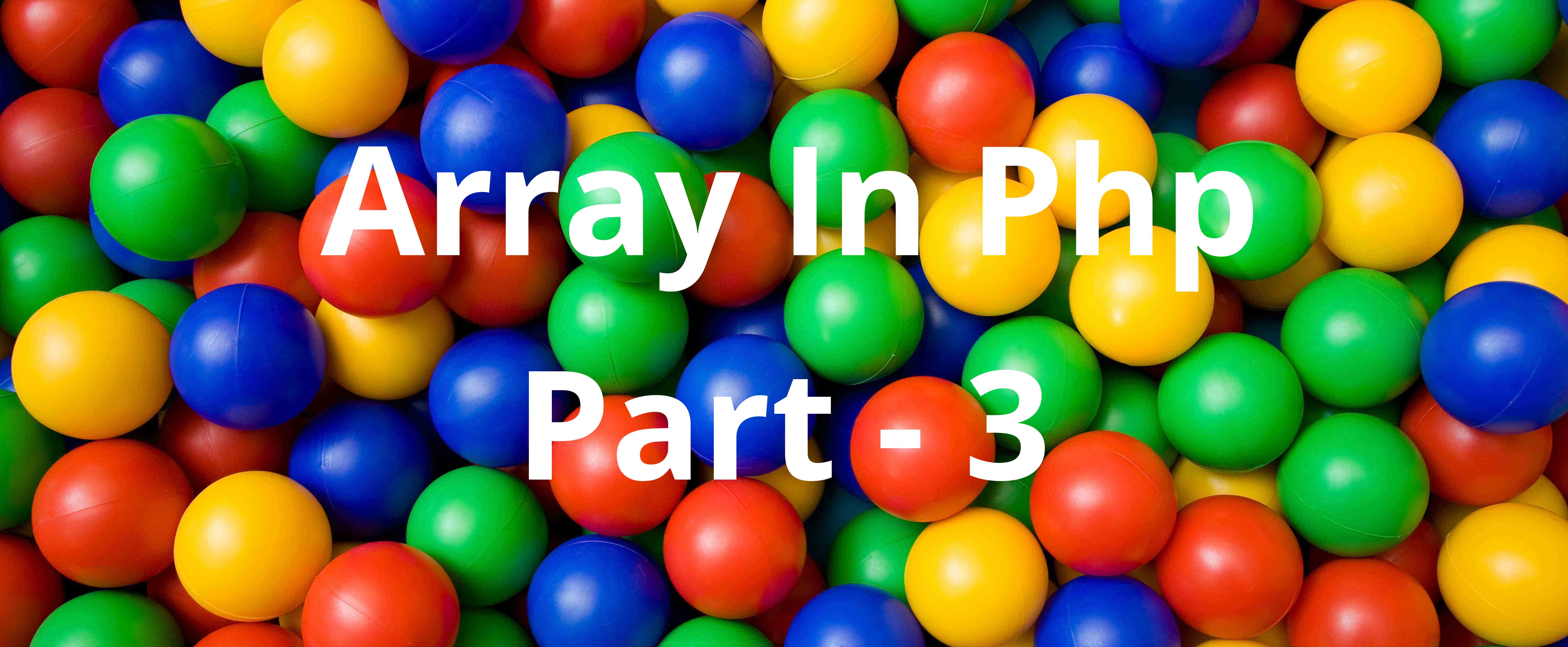 array in php part 3