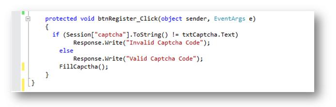 Captcha Image using C# - CPD Technologies