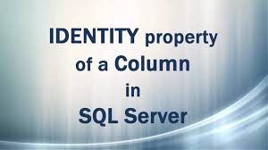 working with identity column