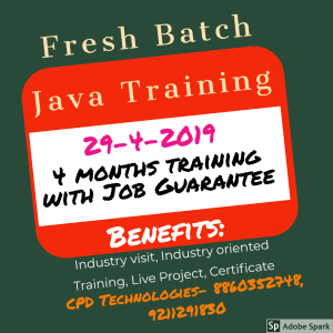Java Training a